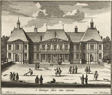 Paleis Honselaarsdijk, Carel Allard, 1689-1702 van Atelier Liesjes