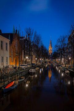 Zuiderkerkstoren Überlegungen Amsterdam von Gerard Koster Joenje (Vlieland, Amsterdam & Lelystad in beeld)