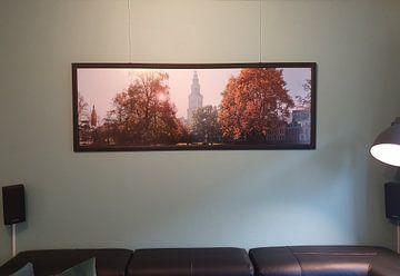 Klantfoto: Martinitoren in de Herfst (panorama) van Frenk Volt