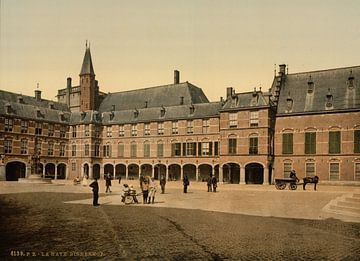 Binnenhof, Den Haag sur Vintage Afbeeldingen