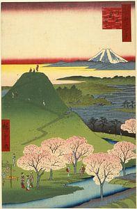 Utagawa Hiroshige.  One Hundred Famous Views of Edo