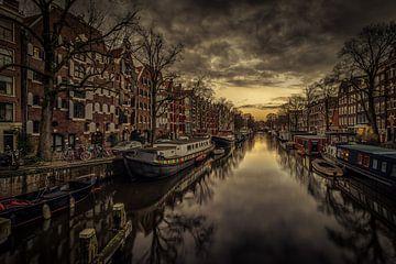 Brouwersgracht Amsterdam van Mario Calma