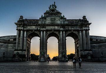 Triumphbögen, Brussel von Werner Lerooy