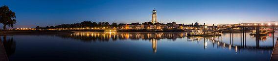Panorama in Deventer at the IJssel van Daan Kloeg