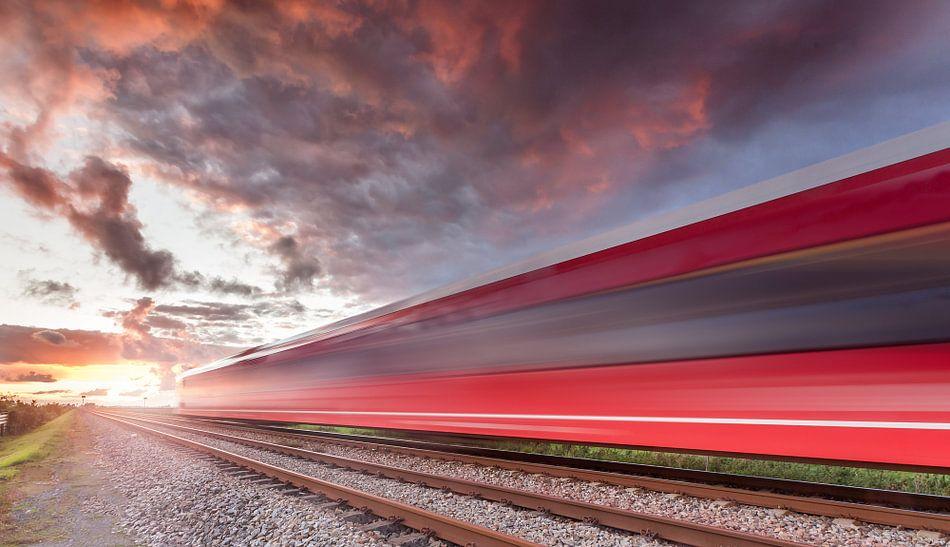 Train speed van Martijn van Dellen