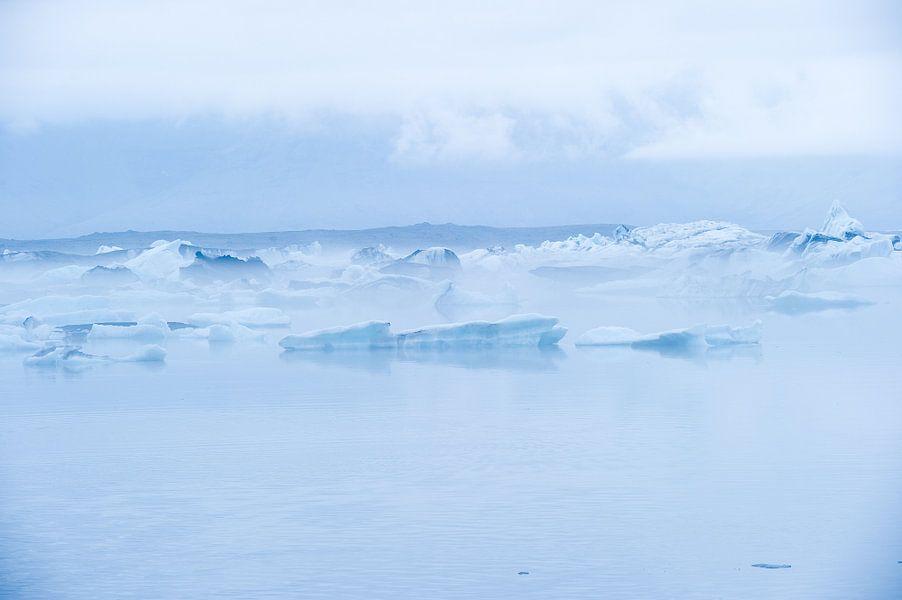 Vatnajökull, Ijsland van Paul Barendregt