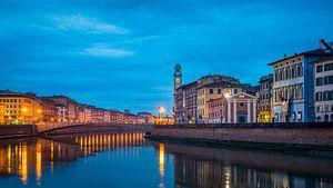 Blue hour Pisa van