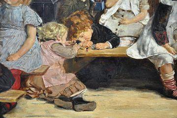 Kleinkinderschule in Amsterdam, Max Liebermann