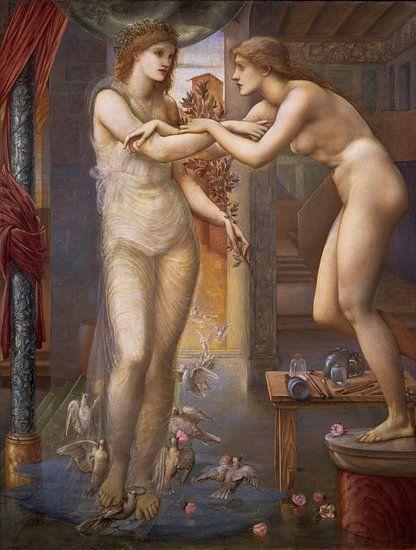 Edward Burne-Jones. Pygmalion en het Beeld - Het Goddelijke Vuur