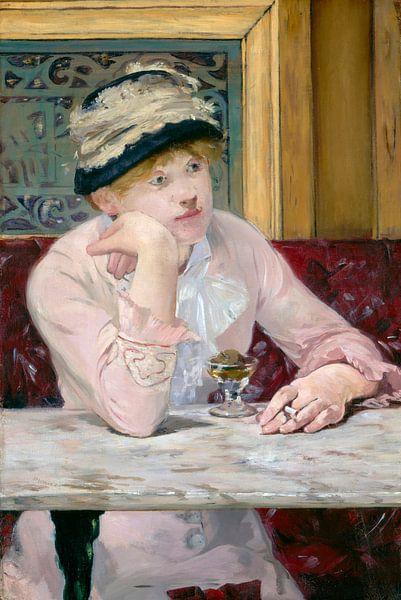 Pflaumenschnaps, Édouard Manet von Meesterlijcke Meesters
