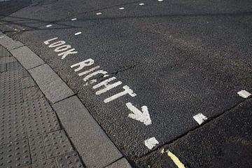 London straat kijk rechts von Jolien Kramer
