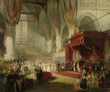 Die Einweihung von König Wilhelm II., Nicholas Pieneman.