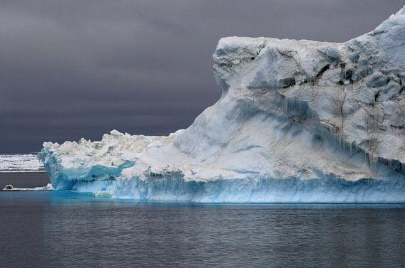 ijsberg rond Antarctica