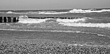 Zee bij Domburg van Jessica Berendsen