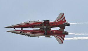 No more Fear of Flying (Patrouille de Suisse)