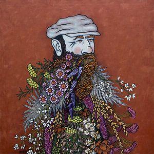 Blumen in meinen Gedanken (nr.2021-06) von Kris Stuurop