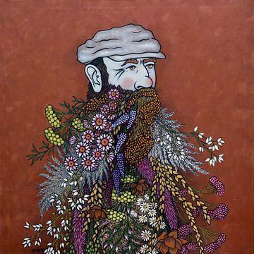 Des fleurs dans mes pensées (nr.2021-06) sur Kris Stuurop