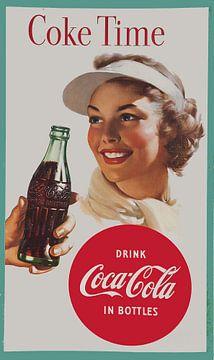 Vintage Coca Cola reclame.