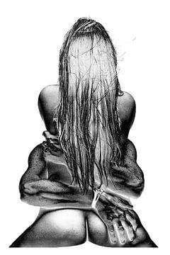 Erotiek | vrouw | sexy | woman | lady | erotic | art | kunst von Pauline Duchene