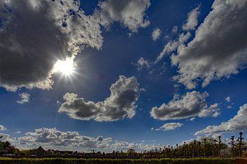 Mooi weer wolken van