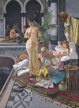 Frauen in einem persischen Bad, Blas Olleros von Atelier Liesjes