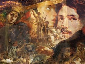 Masters at work, Eugene Delacroix von Giovani Zanolino