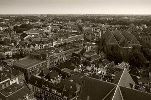 Zwolle vanaf de Peperbus