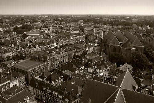 Zwolle vanaf de Peperbus van