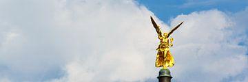 Ange de la paix sur Denis Feiner