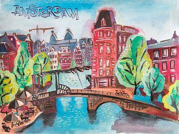 Amsterdam lacht 2 von Ariadna de Raadt