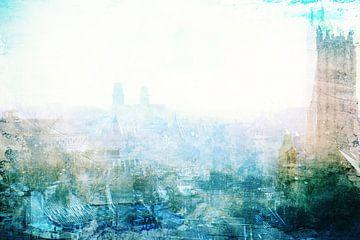 Parijs in het ochtendlicht #02 van Peter Baak