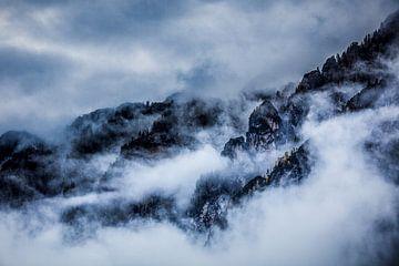 in de wolken von Berend-Jan Bel