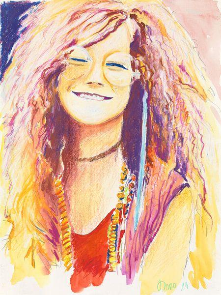Janis Joplin....oh Lord , wont you buy me.... van Dorothea Linke