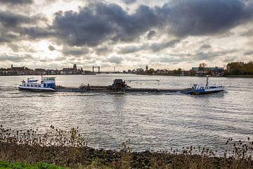 binnenvaartschip Dordrecht van Pixel Meeting Point