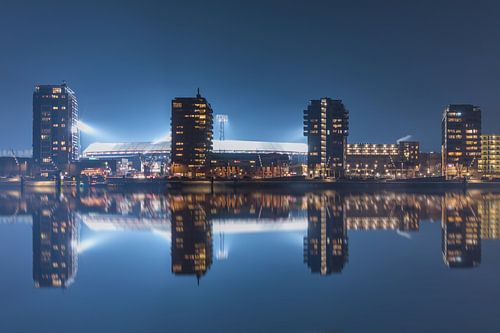 """Feyenoord Stadion """"De Kuip"""" Reflectie 2017 in Rotterdam van"""