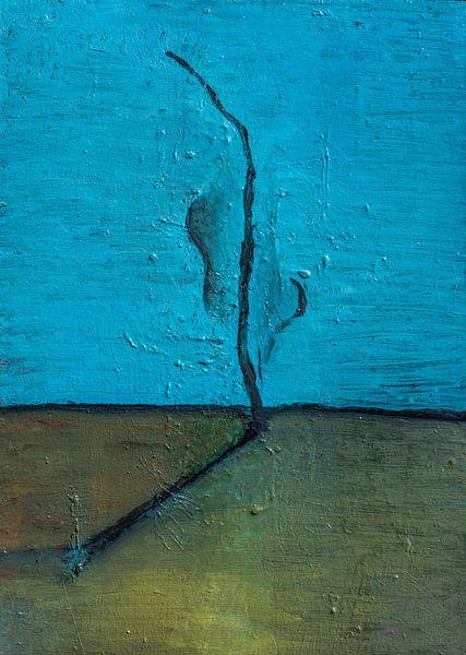 Horizon Compositie #1 van Sander Veen