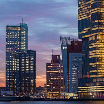 Kop van Zuid Rotterdam am Vormittag von Midi010 Fotografie