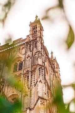 England - Der Turm der Kathedrale von Gloucester von Marco Scheurink