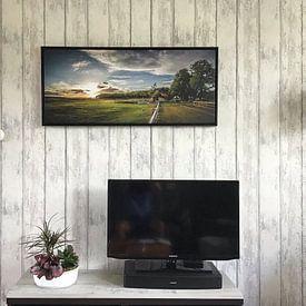 Kundenfoto: Sheepfold Sunset (Ginkelse Heide) von Joram Janssen