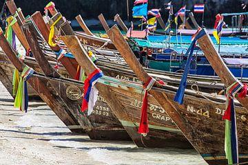 Thailändische Boote von Uwe Merkel