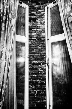 Chambre sans vue (version portrait) sur Esther Hereijgers