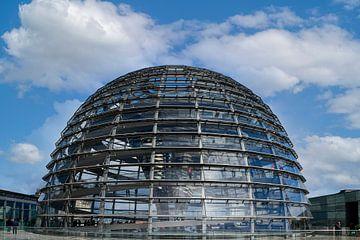 Le dôme du Reichstag à Berlin