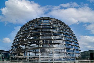 Reichstagskuppel in Berlin von Peter Bartelings Photography