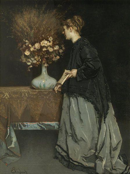 Herfst bloemen, Alfred Stevens van Meesterlijcke Meesters