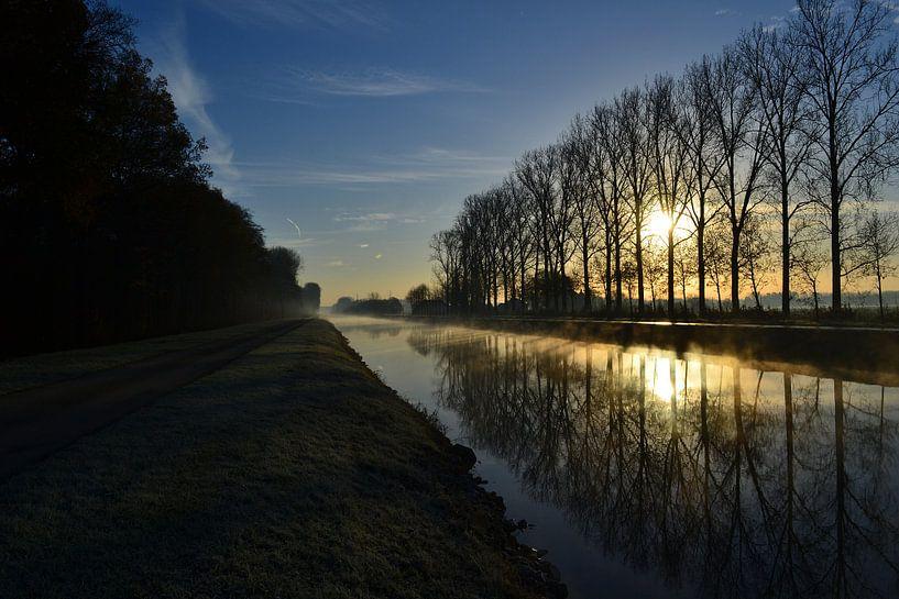 Winterse ochtend van Jarne Buttiens