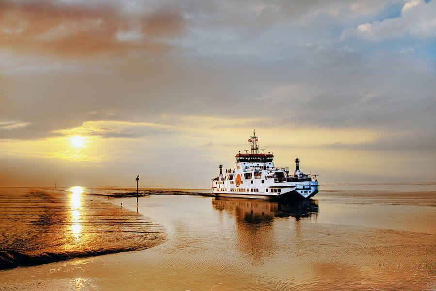 Veerboot Ameland van Harrie Muis