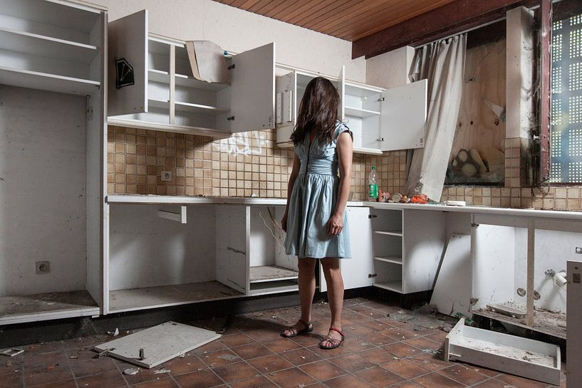 Küche aus der Vergangenheit von Andrew van der Beek