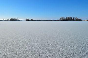 Maagdelijk wit Winters landschap van Greta Lipman
