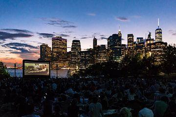 Filme mit Aussicht - Freiluftkino in Brooklyn, New York von mitevisuals