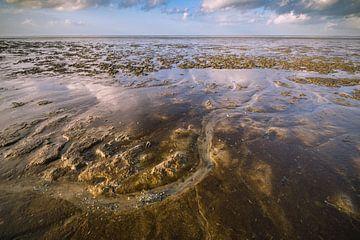Wattenmeer bei Ebbe. von Martzen Fotografie